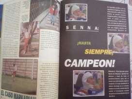 Ayrton Senna Revista 94 Reporte de Muert