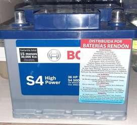 Bateria Bosch S4 36 HP 750 NUEVA