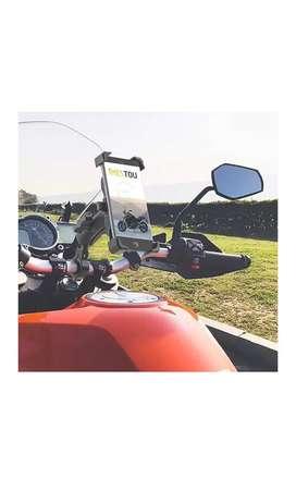 Cargador inalámbrico de celular para motos