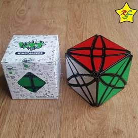 Cubo Rex Lanlan Rubik Modificación Dino - Negro