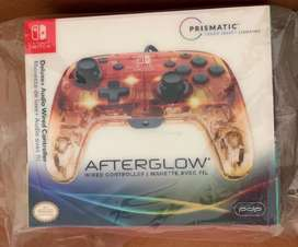 Mando Pro Afterglow Deluxe nintendo switch
