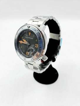 Reloj de pulsera para hombre en cuarzo MORPHIC acero inoxidable nuevo en caja