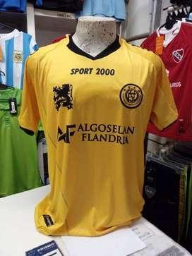 Camiseta flandria amarilla ascenso varias