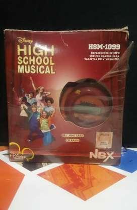 Reproductor de MP3 Noblex High School Musical