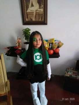 Hermoso disfraz de green lanters ( linterna verde ) v