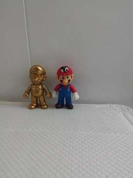 Muñecos de super Mario