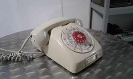 FUNCIONA TELEFONO ANTIGUO DE DISCADO COLECCION VINTAGE