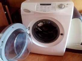 Lavadora americana y secadora