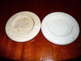 2 hermosos ceniceros Bima en mármol