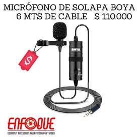 Microfonos de solapa para camaras nikon canon
