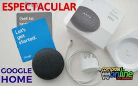 Google Home Mini parlante Inteligente Asistente Virtual CC Monterrey