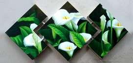 Cuadro triptico cartuchos 377