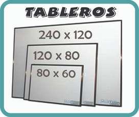 TABLEROS ACRILICO