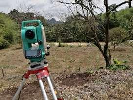 Servicios de medición topografica