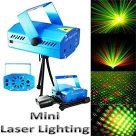 Proyector De Luces Láser Audioritmico Discoteca Y Navidad