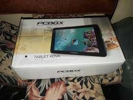 "Tablet 7"" PC BOX en caja"
