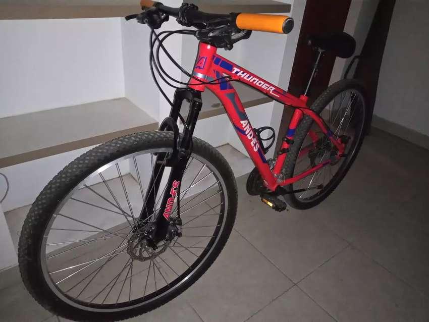 Vendo bicicleta Andes 0
