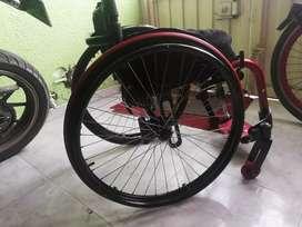 Silla de ruedas Semideportiva ultra liviana