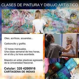 CLASES DE ARTE: PINTURA Y DIBUJO ARTISTICO. CARTAGENA