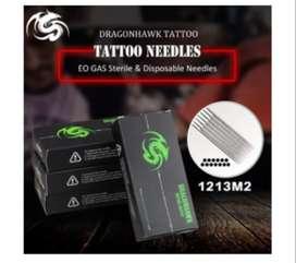 Agujas Para Tatuar 1213M2 Esterilizadas 50und