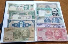Billetes colección