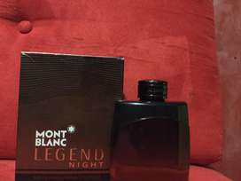 Perfume Mont Blanc Legend night