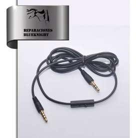 Cable para auriculares macho a macho 3,5mm