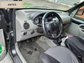 Limpieza de interior vehicular