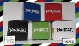 Cajas para golosinas souvenir Ninjago lego movie samurai souvenir cumpleaños