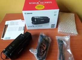 Filmadora canon vixia hf r800 full HD nueva en caja full accesorios