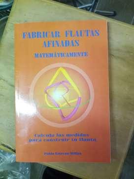 Libro construcción de flautas