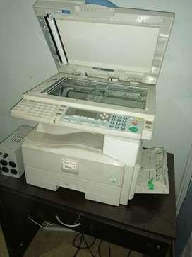 Ganga fotocopiadora ricoh 161