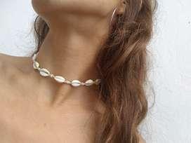 Collar - Tobillera Buzios