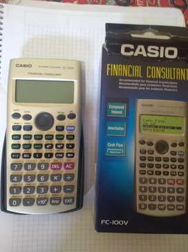 Calculadora Financiera Casio Fc100