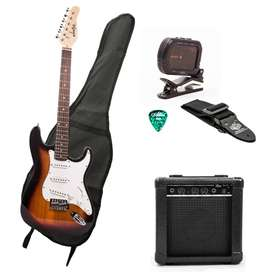 Combo Konige FP Music Box Colombia Guitarra electrica amplificador afinador