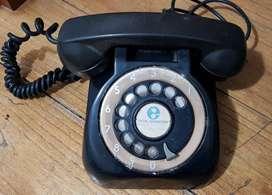 Teléfono ENTEL Argentina a disco. Baquelita. Antiguo 1961