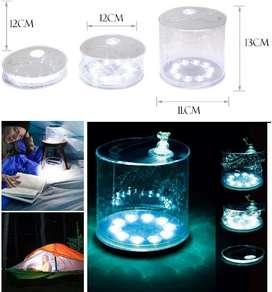 Linterna Solar Inflable Luz Led de camping Con Luz Solar Recargable