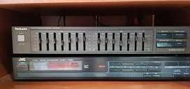 Ecualizador Techincs y Sintonizador JVC
