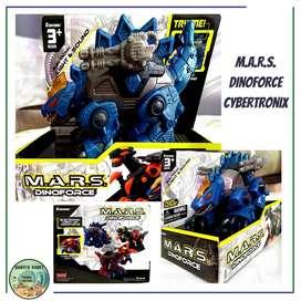 M.A.R.S DINOFORCE  Rojo- Verde- Azul