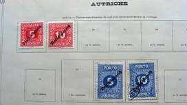 Sellos postales de Austria 1919 – 1921