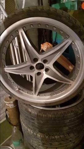 4 ruedas completas rodado 20
