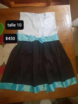 Vestido hecho con una modista