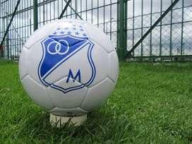 Balón de fútbol de Millonarios