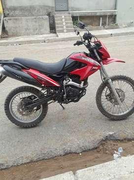 vendo moto shineray 200 cc