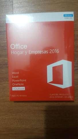 Office Hogar Empresa 2016