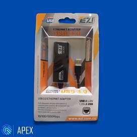 ADAPTADOR USB 3.0 a Puerto LAN Ethernet Gigabit