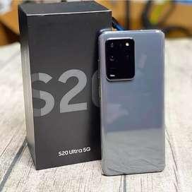 Samsung galaxy S20 ultra 128 GB nuevo, sellado 1 año de garantía