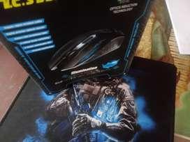 Mouse Gamer con 2400 DPI Configurable, Marca TC-STAR  + Gamepad con antideslizante