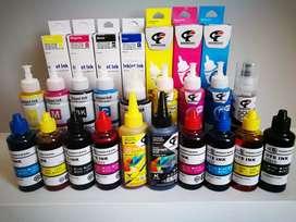 Tinta para impresoras EPSON CANON HP