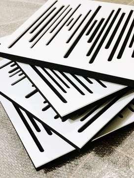 4 Paneles Acusticos Wavewood